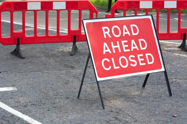 One lane of the A68 will be closed for a pedestrian crossing and resurfacing. Photo: Pixabay