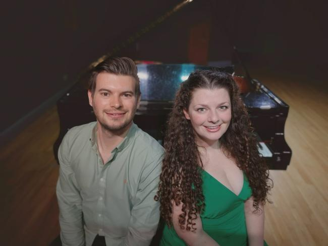Ewan and Aimee play the Heart of Hawick later this month