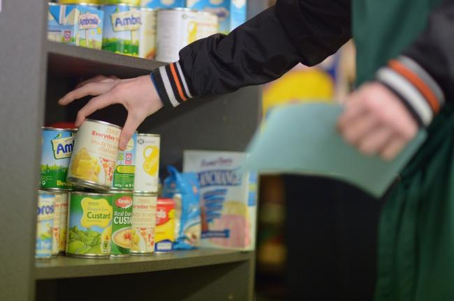 Selkirk Food Bank predicts it will remain busy despite lockdown easing. Photo: Jeff J Mitchell/Getty Images
