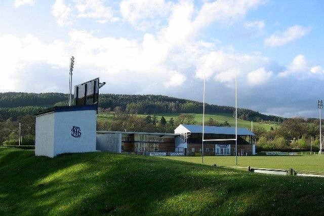 Selkirk's Philiphaugh ground was considered dangerous