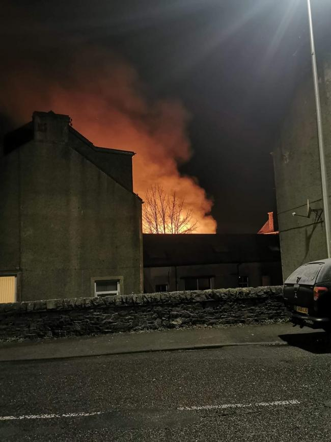MSP offers support following chemical plant blaze
