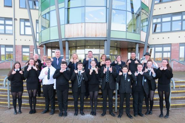 Staff and pupils at Earlston High have welcomed the report