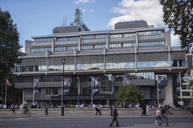The QEII Centre in Westminster