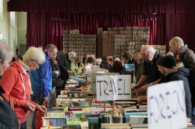 Thousands of books are sold every year at the annual sale. Photo: Helen Barrington