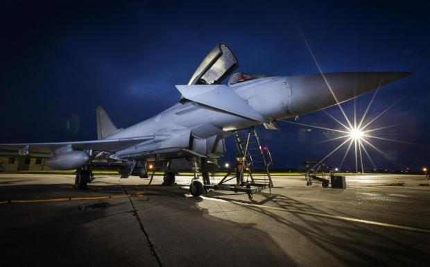 Border Telegraph: A Typhoon jet
