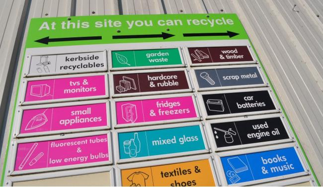 Recycling Centre. Photo: Scottish Borders Council