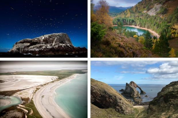 Bass Rock, An Lochan Uaine, Bow Fiddle Rock and Sanday. Pictures: Neil Squires/PA Wire/Damian Shields/VisitScotland/Jamie Simpson/The Herald