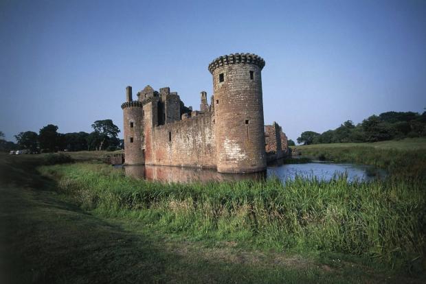Border Telegraph: Caerlaverock Castle