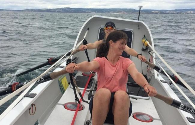 Sarah Hunt, a former Peebles High School student, is aiming to row across the Atlantic in an eco-friendly boat