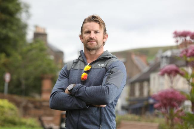 Calum Macrae, from Galashiels, is a member of the Commando Spirit team taking part in the 2020 Talisker Whisky Atlantic Challenge