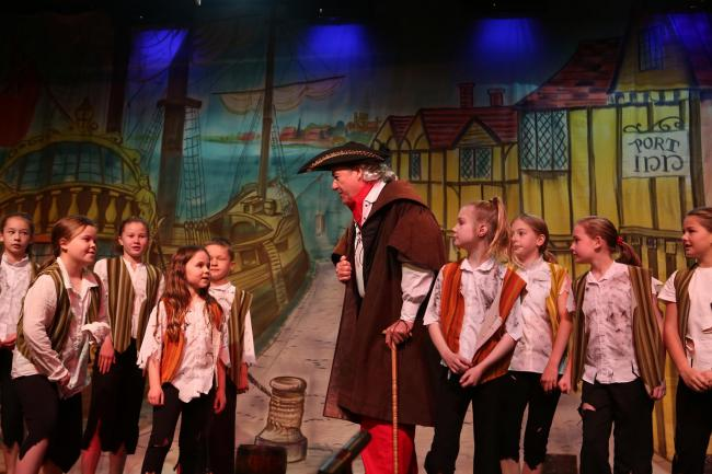 Treasure Island was the Galashiels pantomime in 2017. Photo: Helen Barrington