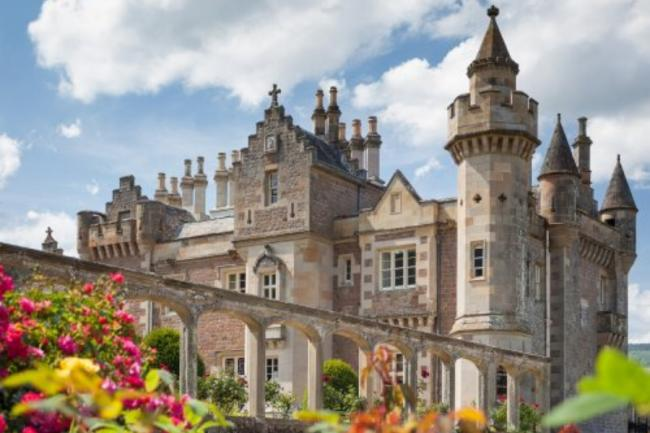 Abbotsford House, near Galashiels