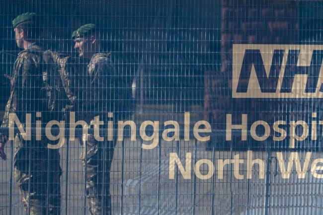 The NHS Nightingale North West hospital