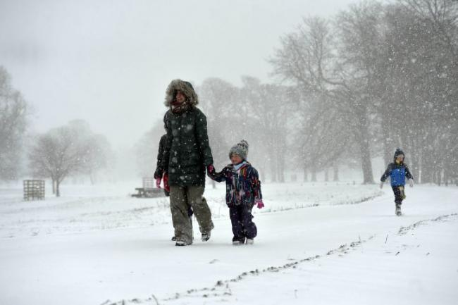 The Met Office has issued an amber warning for snow