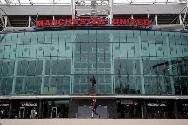 Old Trafford, the home stadium of Manchester United. Photo: Martin Rickett/PA Wire