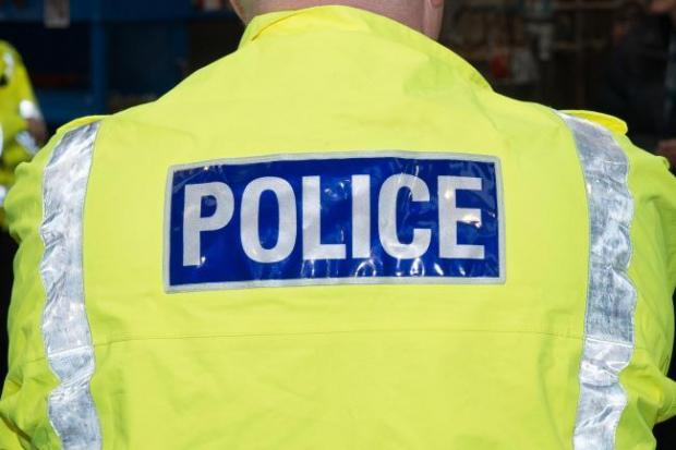 A shop in the Borders has had items stolen