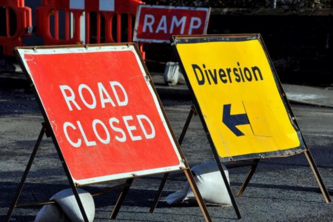 The road is set to be closed later this month