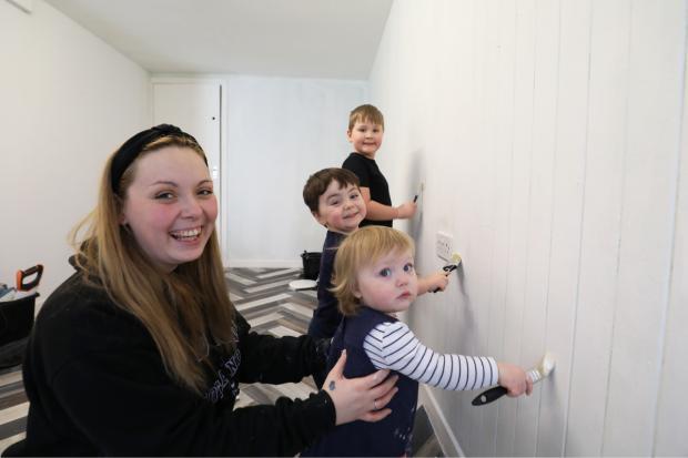 Border Telegraph: Abby Allen is opening a new not-for-profit business. Photo: Helen Barrington