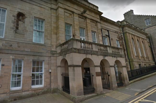 Jason Hook, 51, of Hawick, appeared in Jedburgh Sheriff Court. Photo: Google Maps