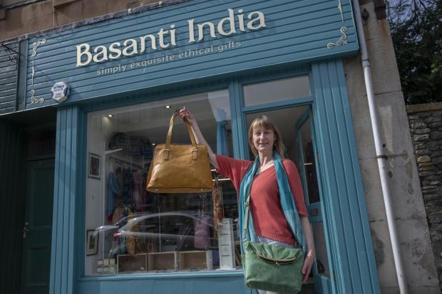 Border Telegraph: Basanti India. Photo: Phil Wilkinson