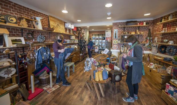 Border Telegraph: The General Store. Photo: Phil Wilkinson