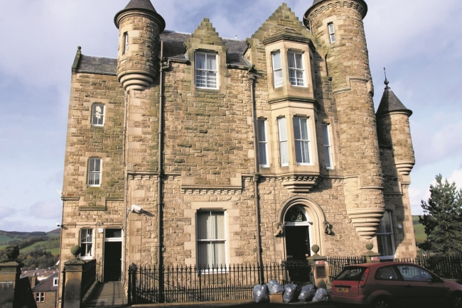 Galashiels woman fined after being found with cannabis