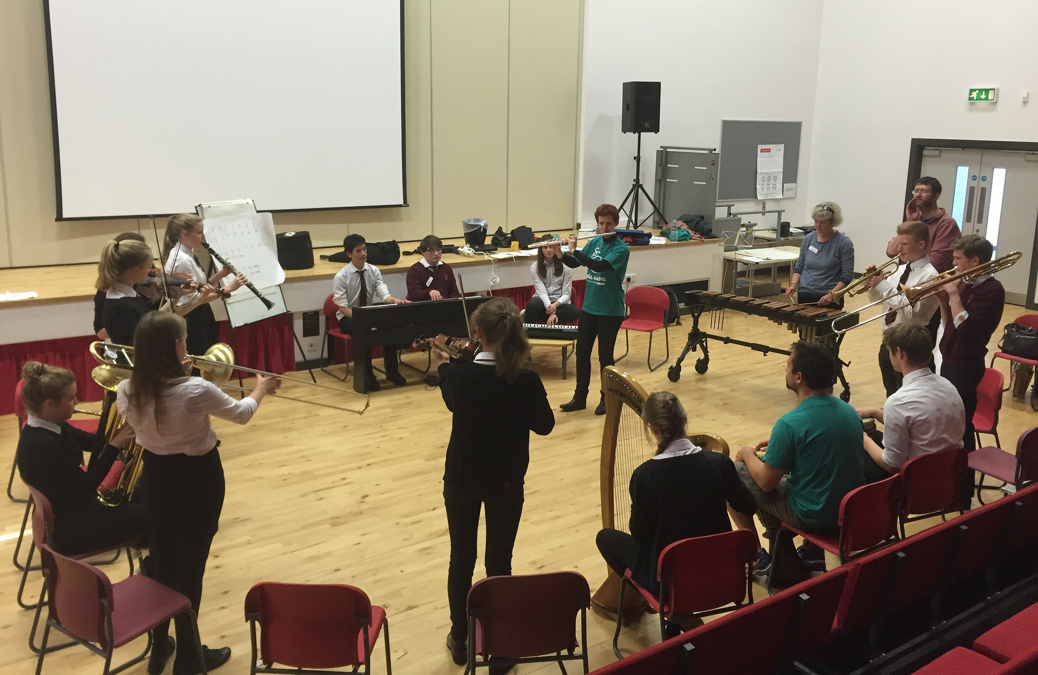 The Scottish Chamber Orchestra brings Masterworks to Borders schools