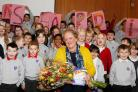 After 24 years at the Galashiels School, Mrs Hardie says the thing she will miss most is the children