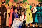 The panto returned to Gala last week - oh yes it did!