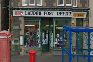 Temporary closure at Lauder post office