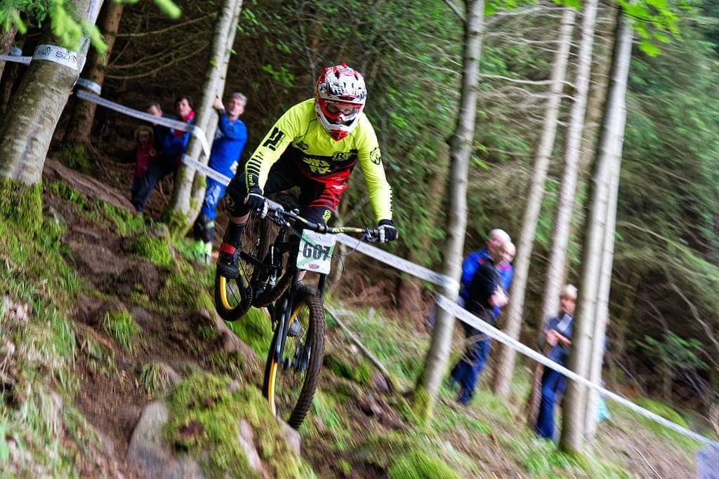Mountain biking has witnessed huge growth across Scotland