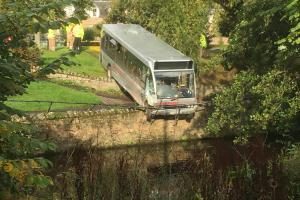 Bus crash driver is banned for two years. Photo: Ally Holliday