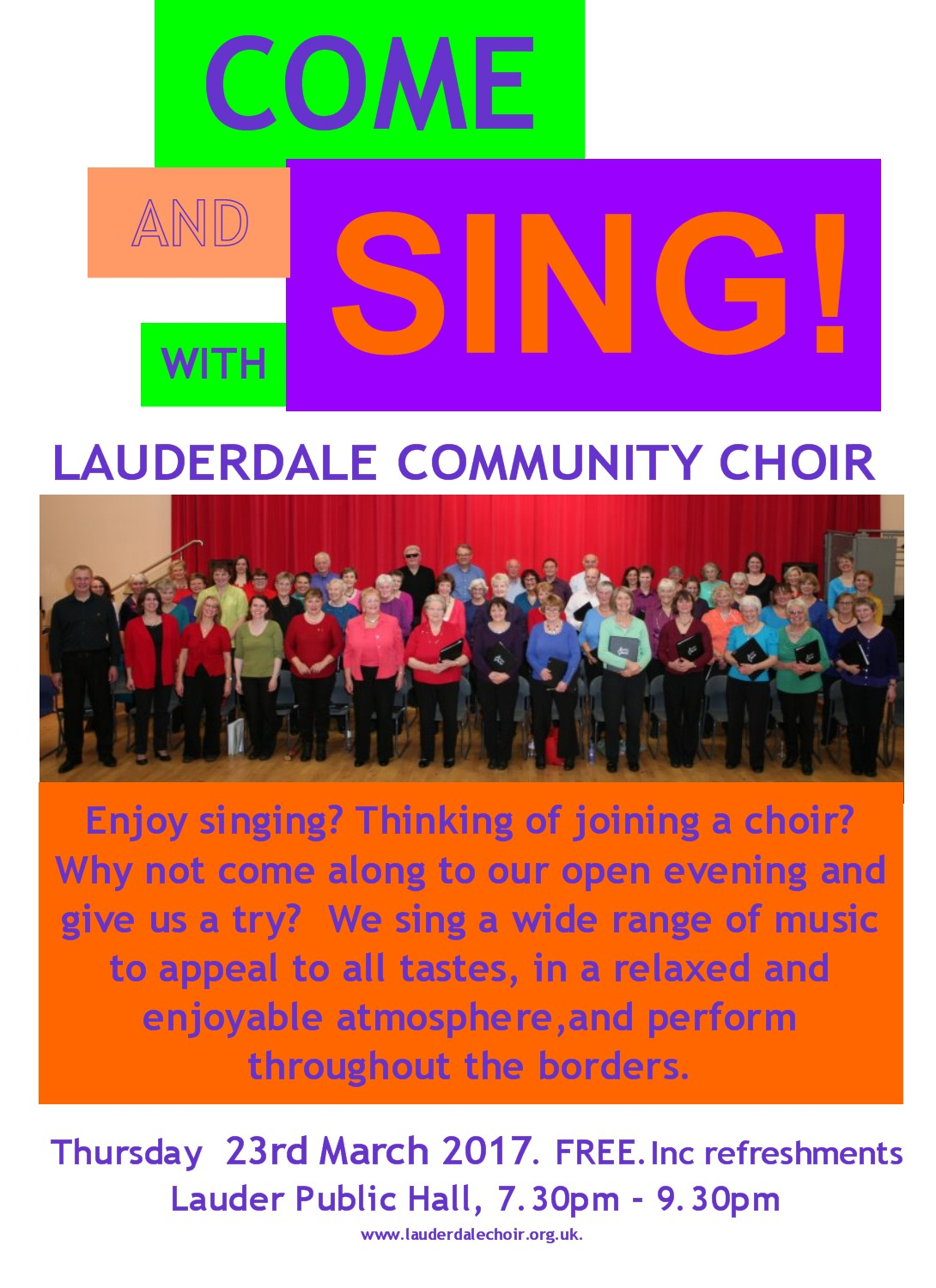 Come and Sing!