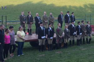 The towns of Galashiels and Lauder came together at the historic event