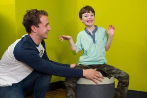 21-year-old Callum Hunter has created a therapy chair for autistic children