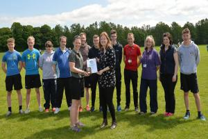 Live Borders' Active Schools have landed a top award