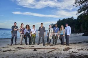 The young group, aged 18-30, appeared on The Island with Bear Grylls. Photo: Channel 4 Pictures