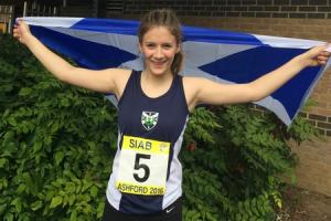Bryony will compete for Scotland next month