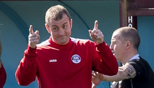 Hawick new manager Craig Tully