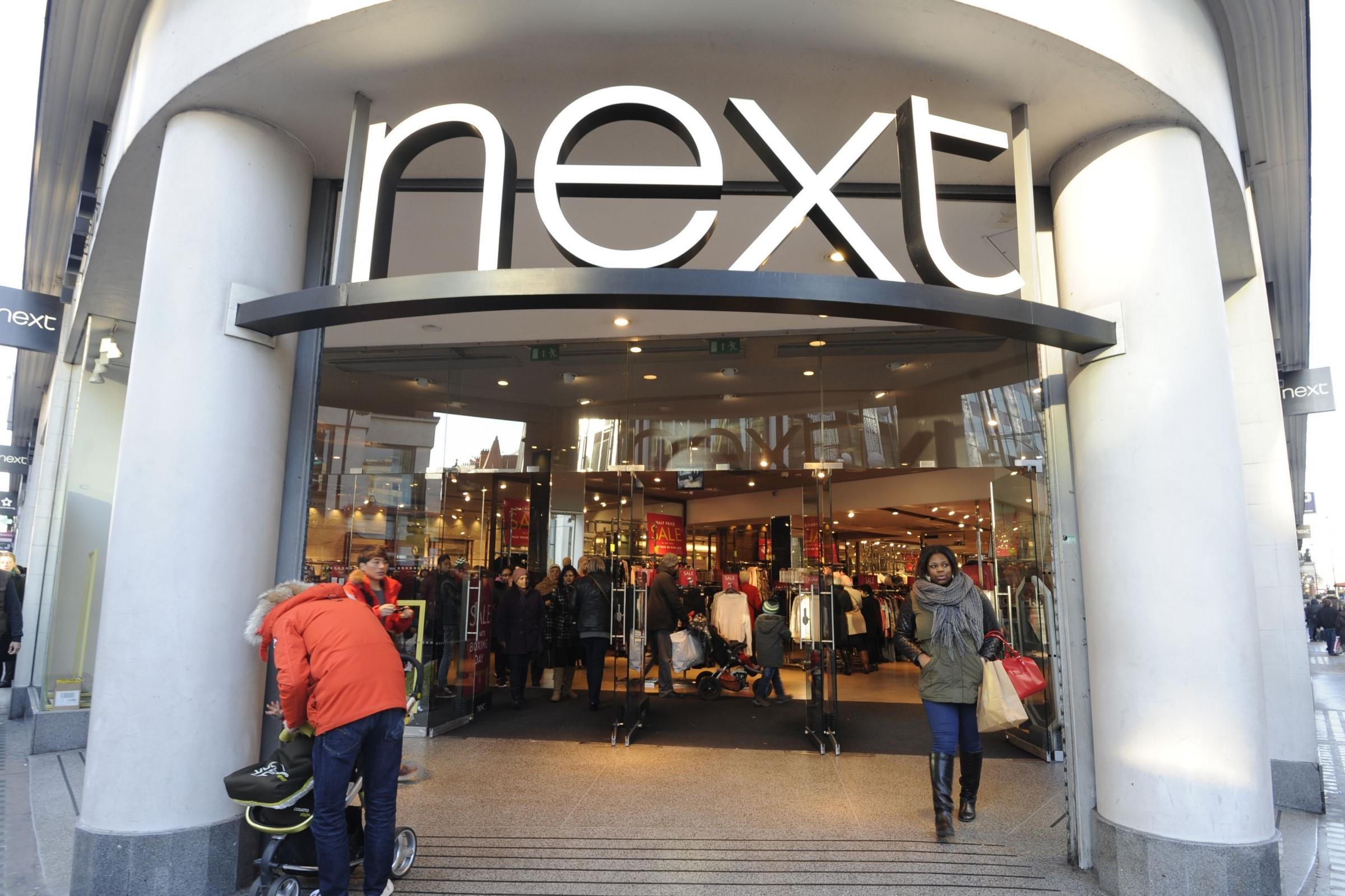 Next issued its latest trading update on Wednesday (PA)