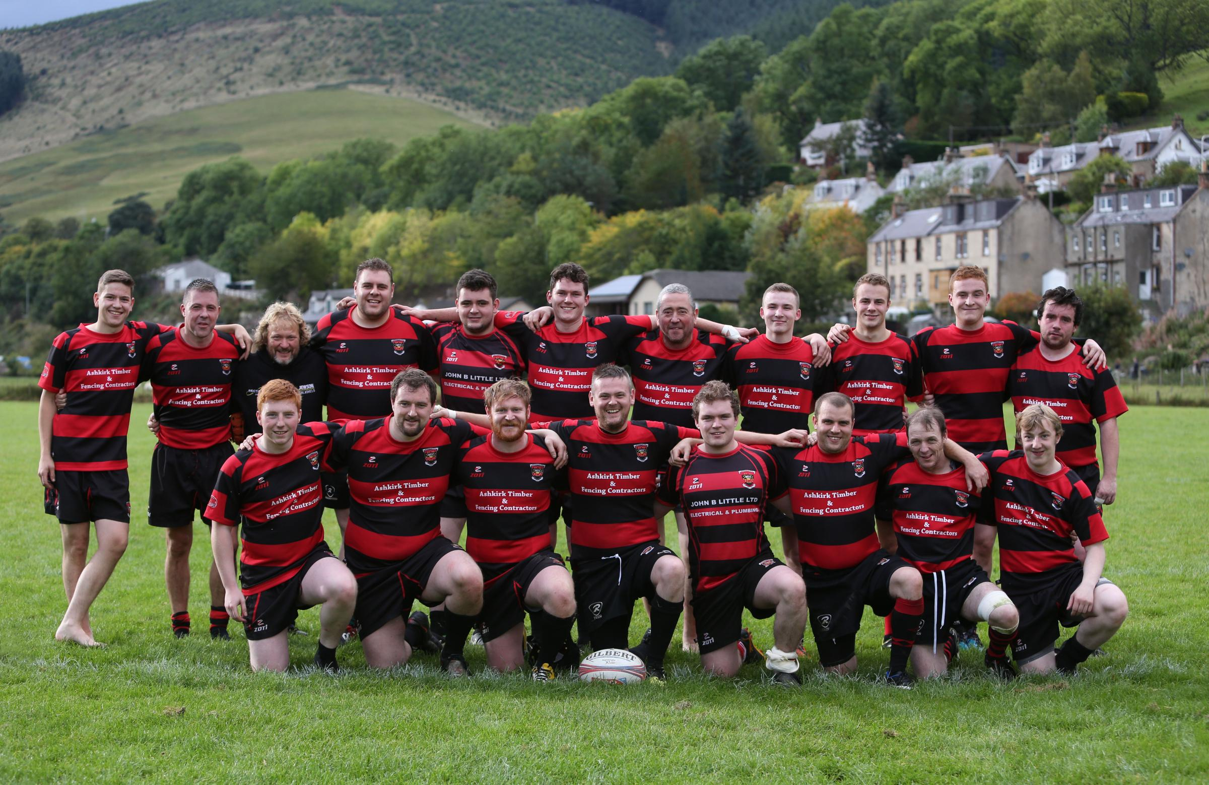 Walkerburn Rugby Team 2017.