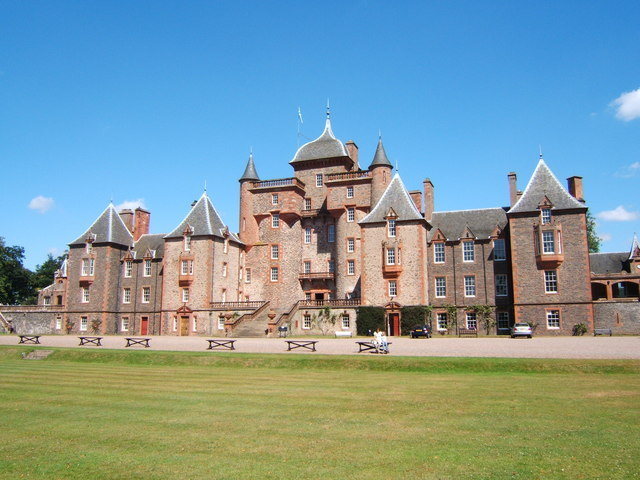 Thirlestane Castle will provide a stunning backdrop for the holiday park