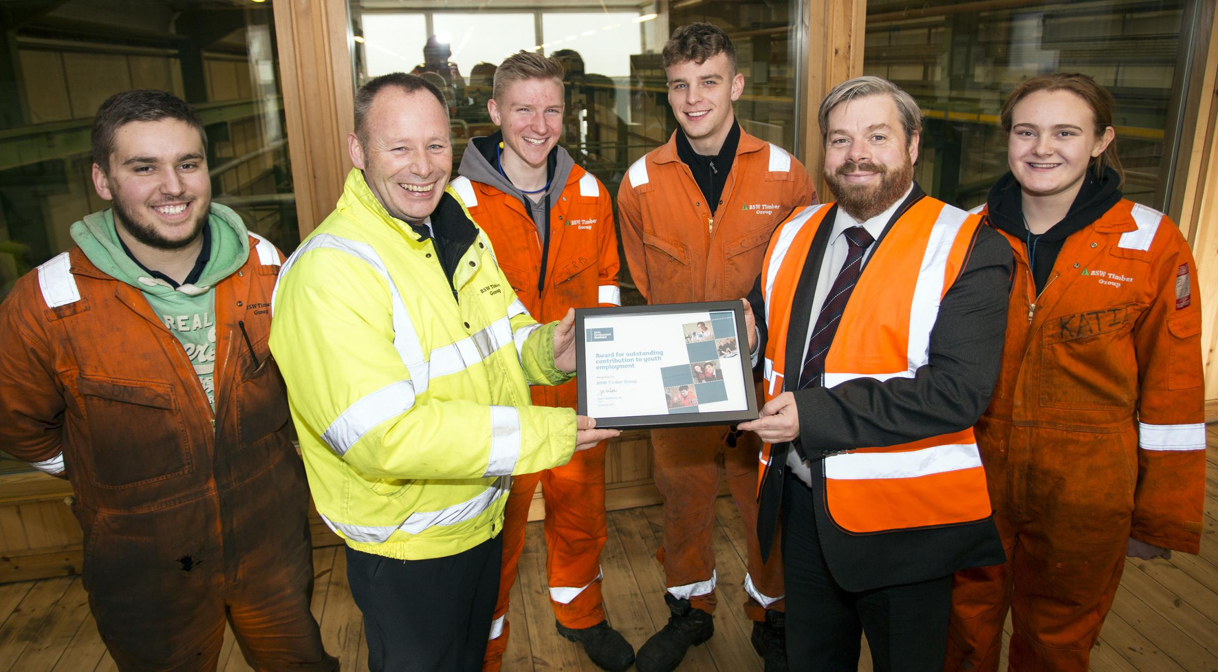 Timber Apprentices Branch Into Awards Border Telegraph