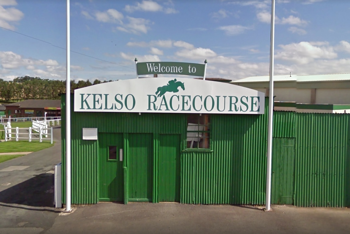 Kelso Racecouse in the Scottish Borders. Photo: Google Maps