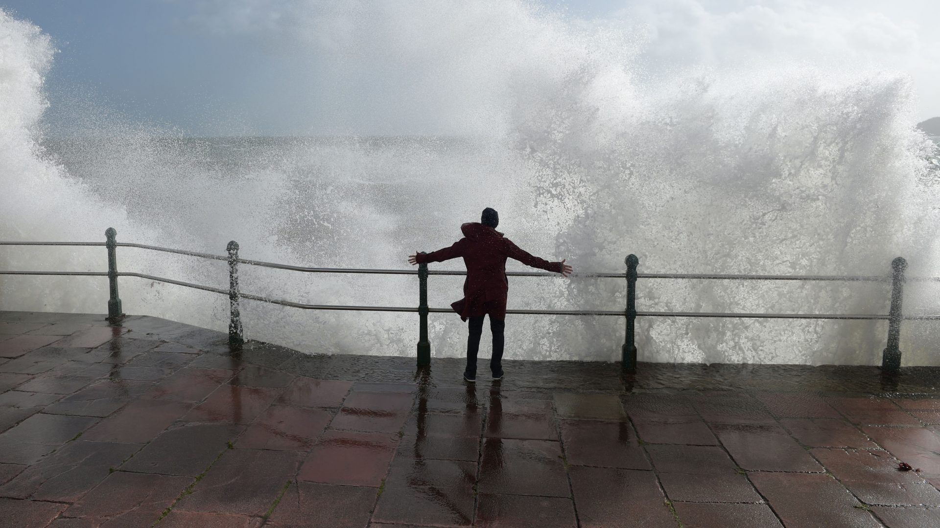Thousands without power as Storm Eleanor batters Britain with 80mph winds
