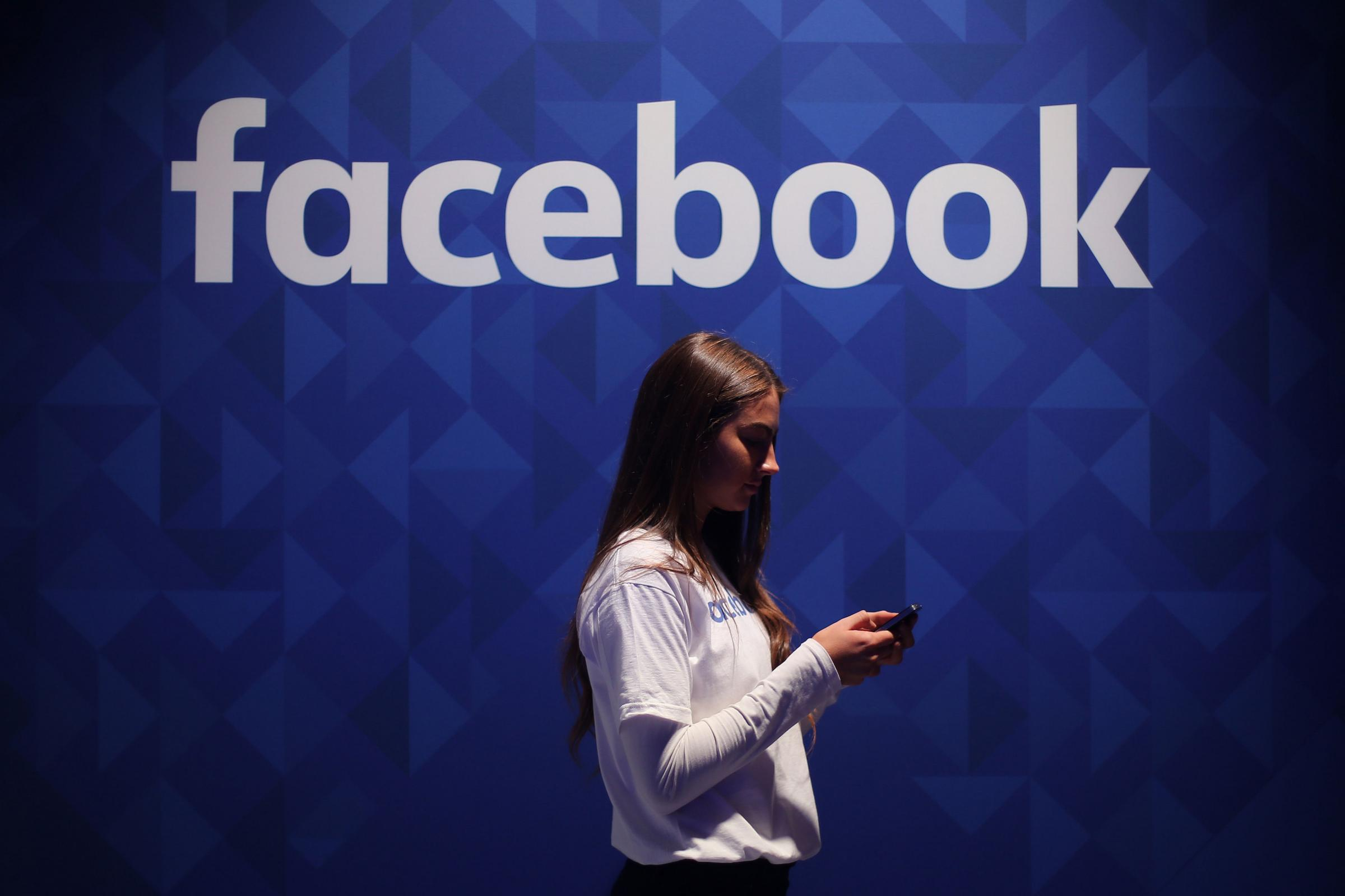 Facebook was among the social media giants appearing before a special session of a House of Commons committee (Niall Carson/PA)