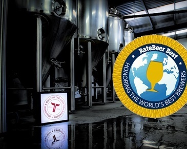 Tweedbank's Tempest Brewery has been included in the world's top 100