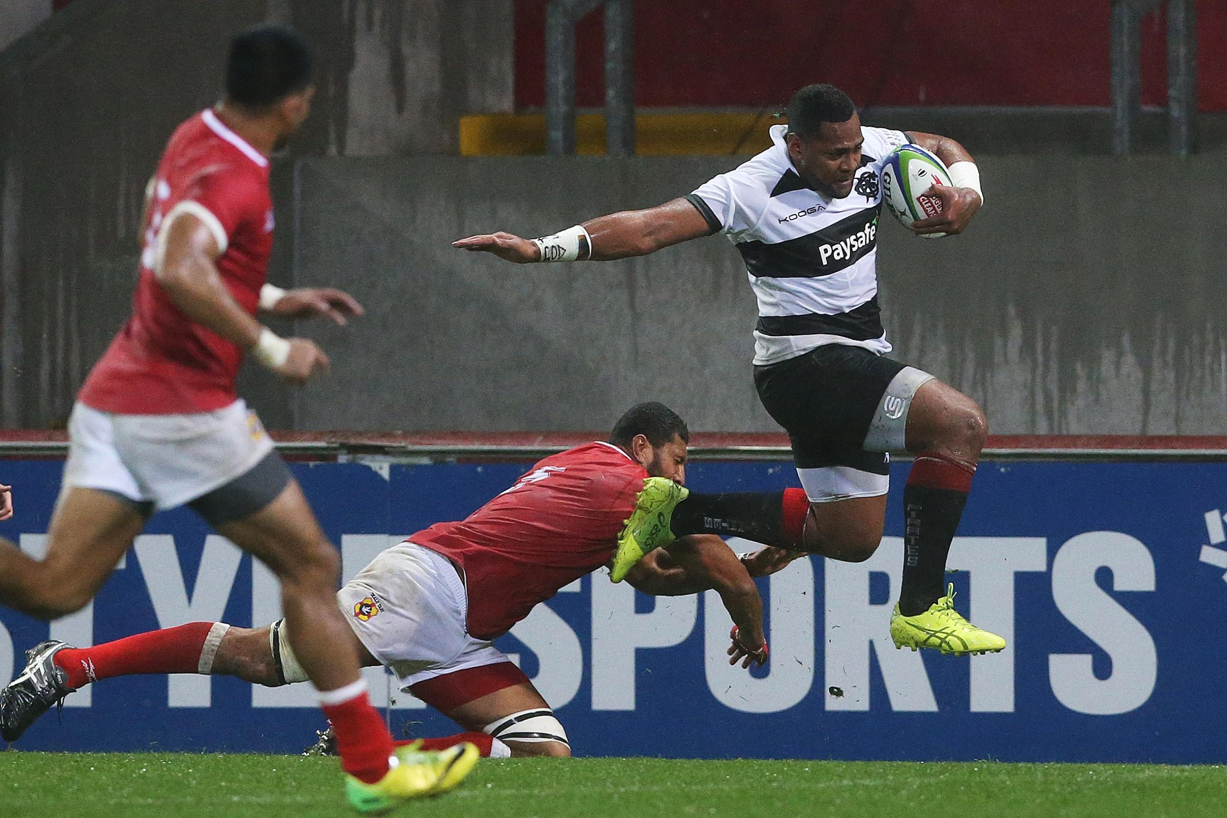 Taqele Naiyaravoro, seen here playing for Barbarians, has signed for Northampton (Brian Lawless/PA)