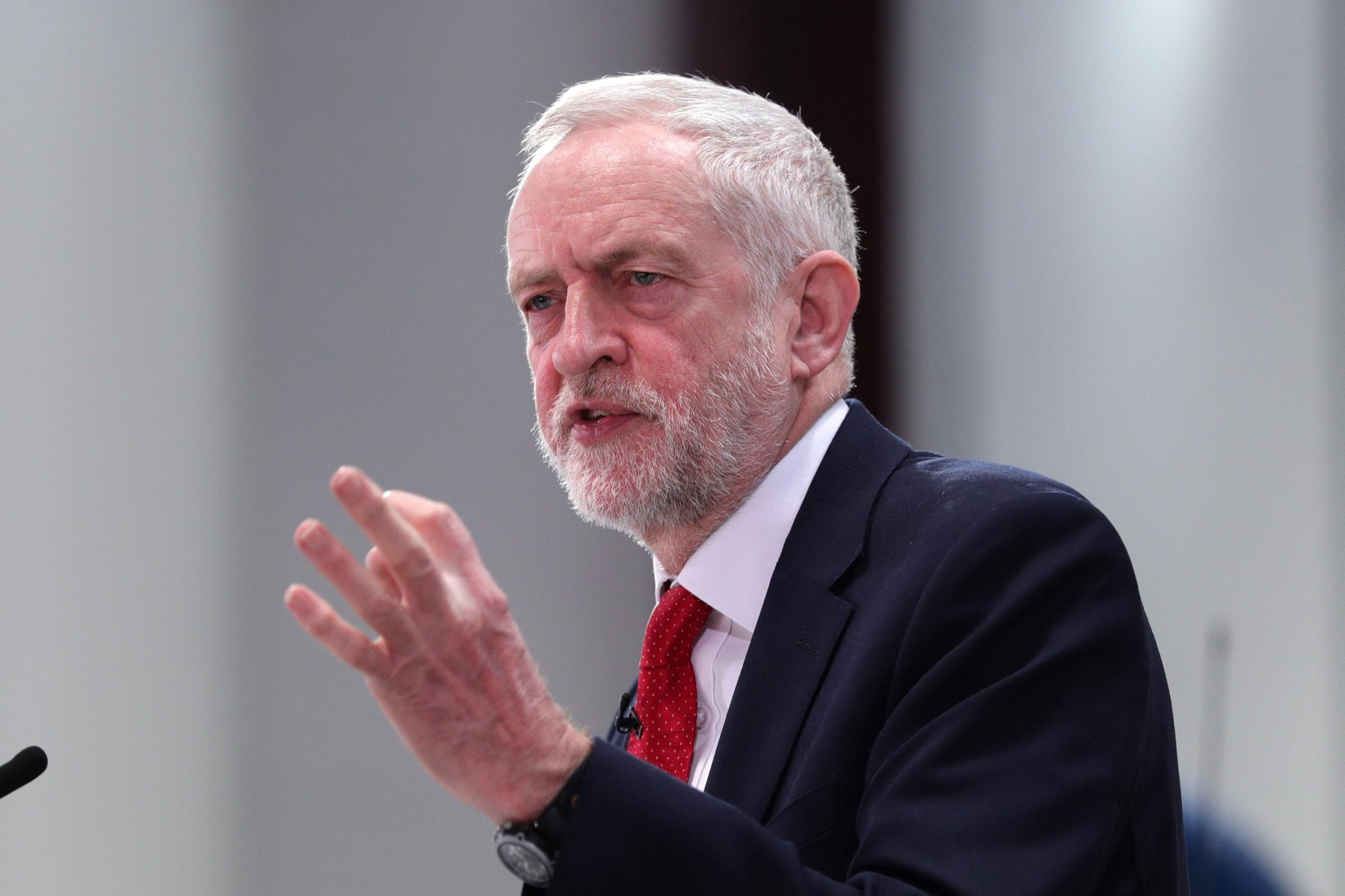 Labour leader Jeremy Corbyn will address the Scottish Labour Party conference in Dundee (Aaron Chown/PA)