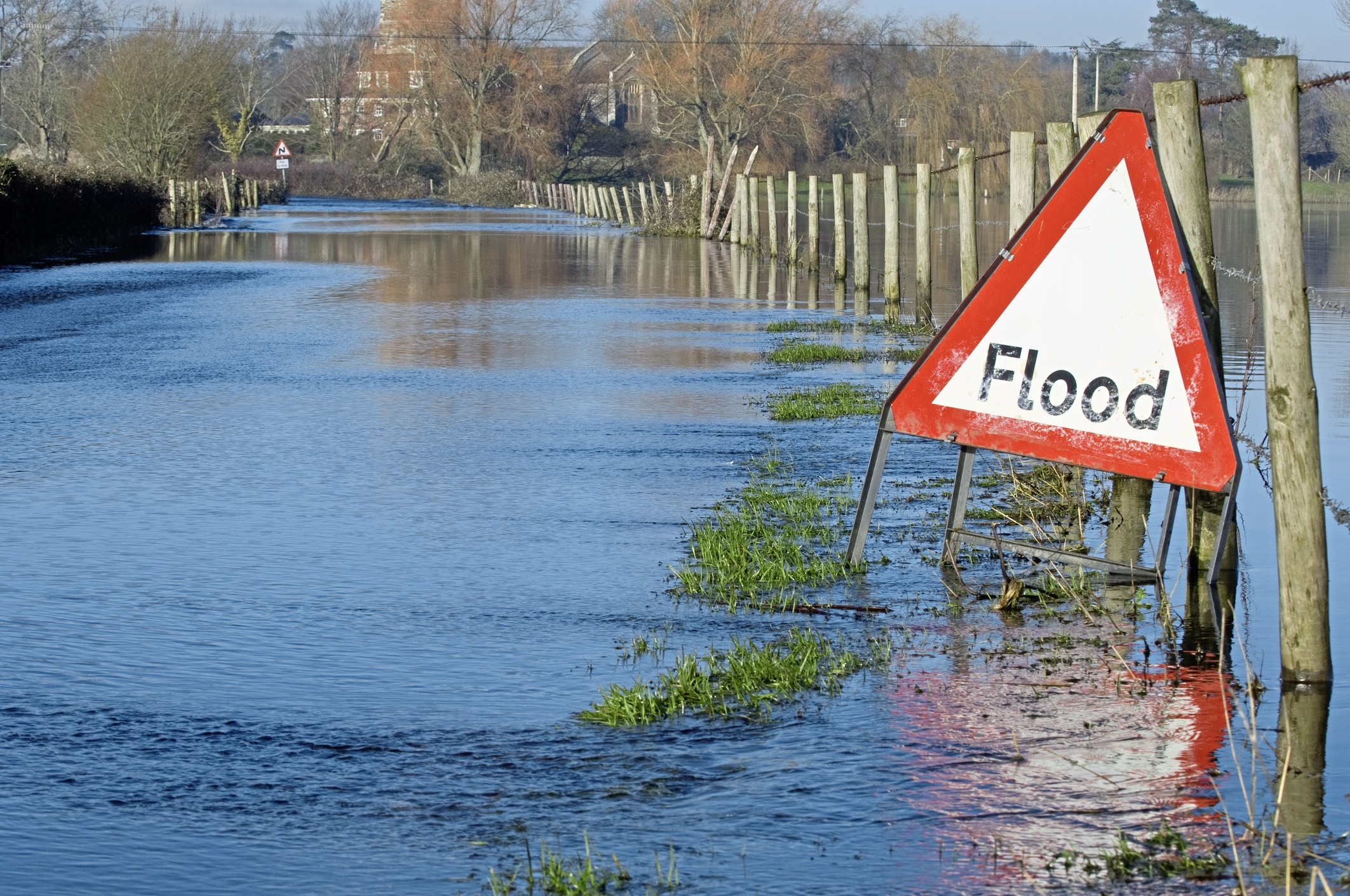 Flood warnings in place following heavy rain